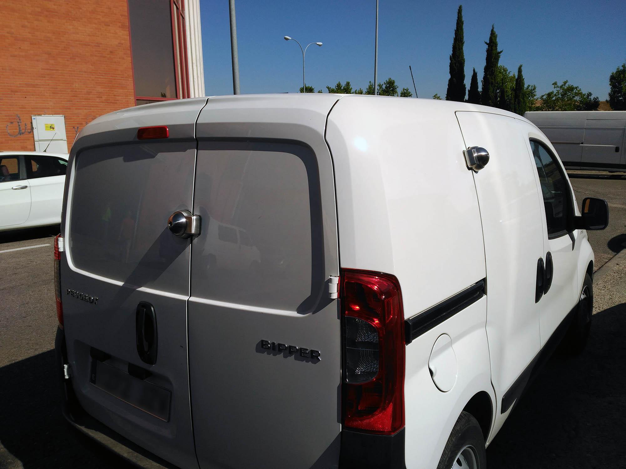 cerraduras de seguridad para furgonetas